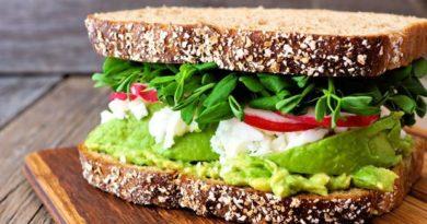 5 сэндвичей от простых до сложных