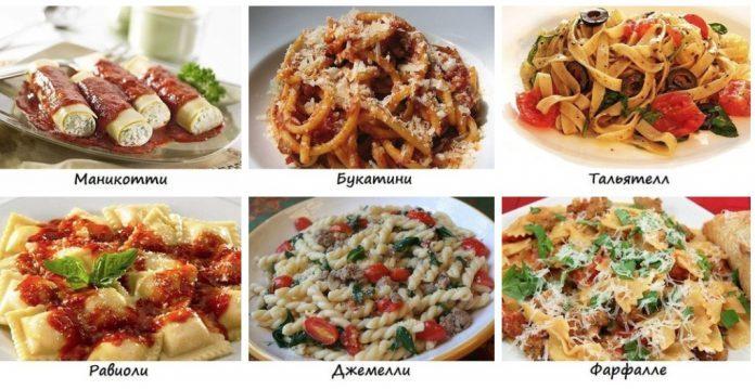 Изучаем итальянскую кулинарию: 20 Вкуснейших Видов Пасты