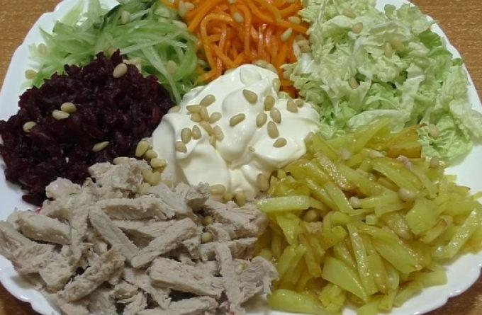 """Все гениальное просто: французский салат """"Гайрат"""""""