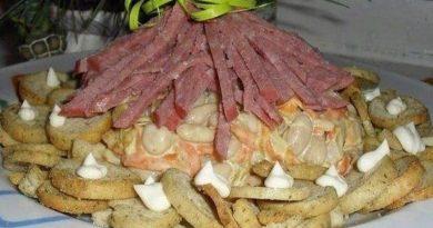 Салат «Лесная хижина»