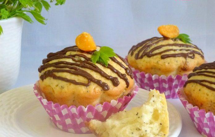 Ароматные лимонные кексики с маком — забирай в копилку рецептов!