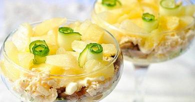 ТОП-5 рецептов легких диетических салатов
