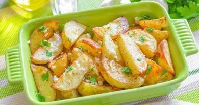 Картофель по-гречески — любимый гарнир моей семьи!