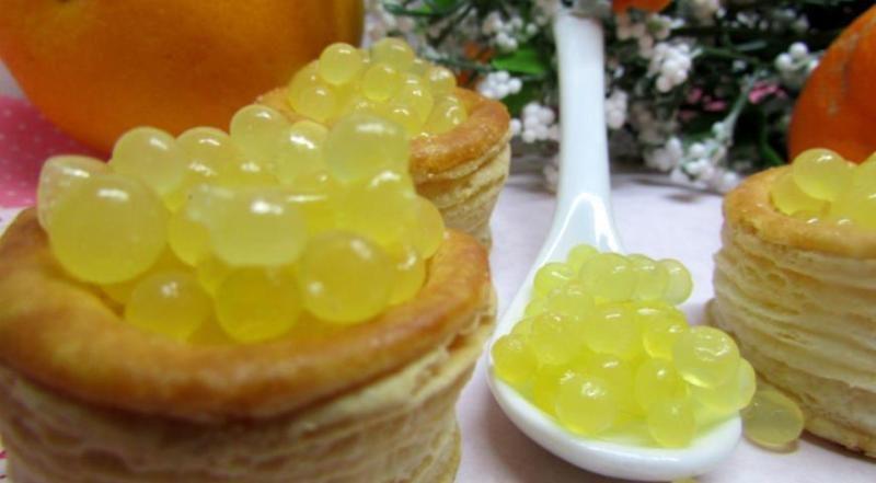 Десерт «Апельсиновая икра»