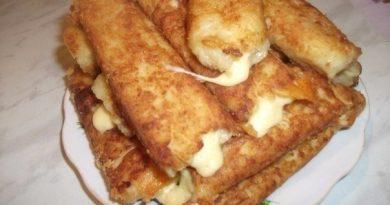 Картофельные палочки с сыром — нереально вкусно!