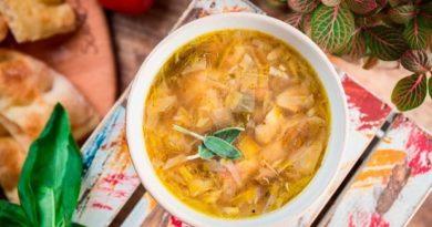 3 легких супа из овощей
