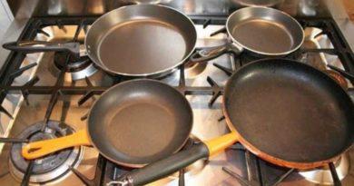 Как очистить кухонную посуду