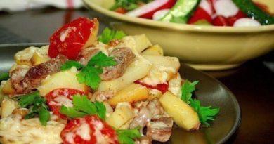 Картофель «по-французски» на сковороде