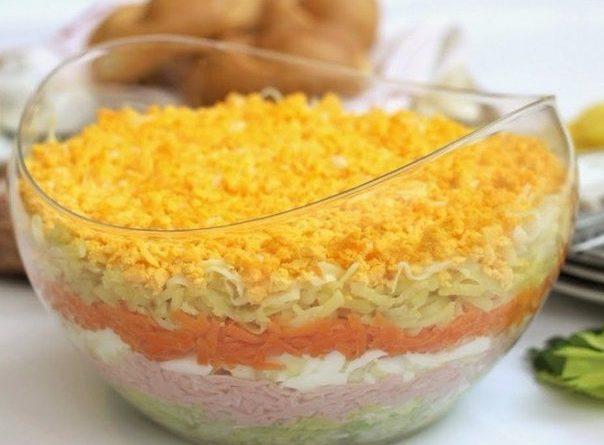 Для тех, кто ищет вкусный салат, да такой, чтобы язык можно проглотить — вам сюда!
