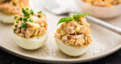 Ух ты! Рецепт на вес золота: Яйца, фаршированные крабовым мясом