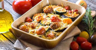 Готовим яичницу с овощами по-баскски