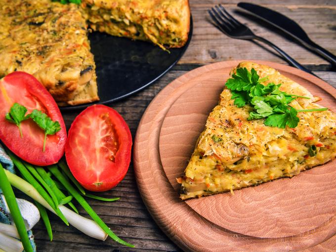 Ленивый пирог с капустой: пошаговый рецепт