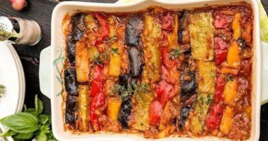 Яркий, незабываемый, сочный, овощной Рататуй «Вкусная Бомба»