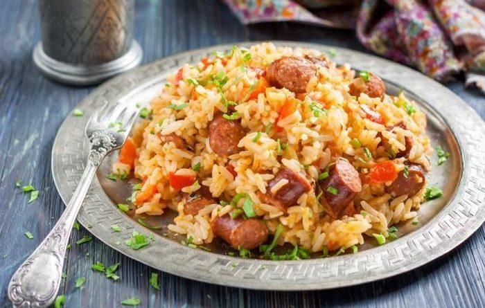 Охотничьи колбаски с рисом и паприкой