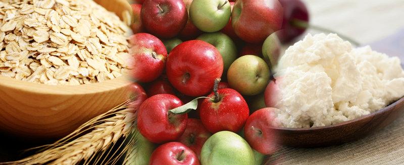 яблоки и овсянка диета