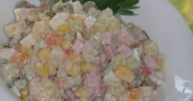 Обалденный салатик «Мексиканский» — Восторгу нет предела!
