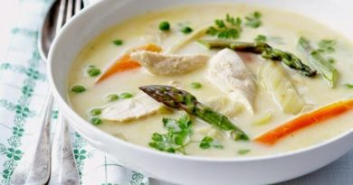Ватерзой — классический бельгийский суп