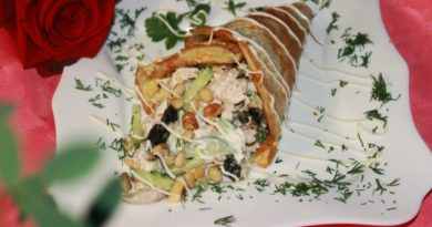 Салат «Рог изобилия». Только блюда с такими названиями должны быть на праздничном столе!