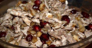 Салат «Шамаханская царица» — вкусный салат, в котором нет ничего лишнего!