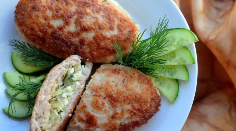 Вкусный рецепт: зразы с яйцом и зеленью
