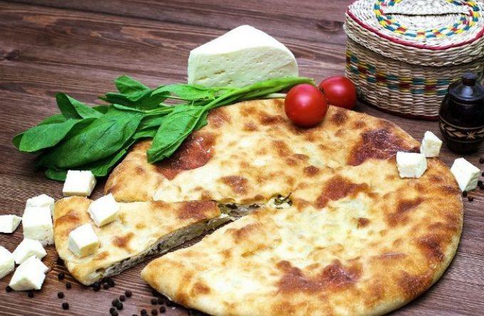 Осетинский пирог с черемшой