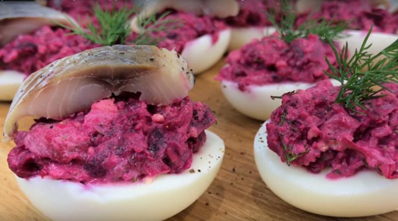 Закуска «Ленивая шуба» — безумно вкусное и очень красивое блюдо!