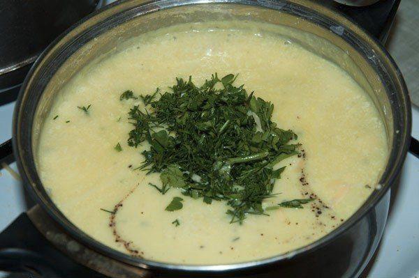 Крем-супик с сыром