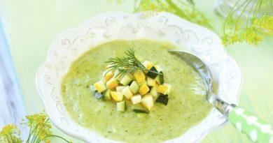 Kабачковый суп-пюре
