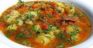 """Ароматный суп """"Шурпа"""" к обеду"""