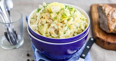 Рагу из капусты (со сливками и яйцами)