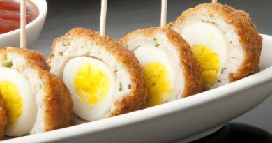 Яйца перепелиные в панировке