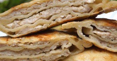 Китайские лепешки с мясом