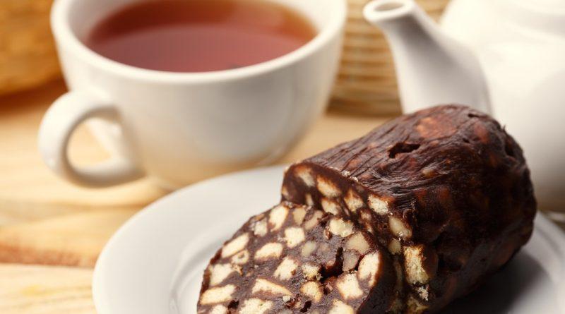 Вкуснейшая шоколадная колбаска