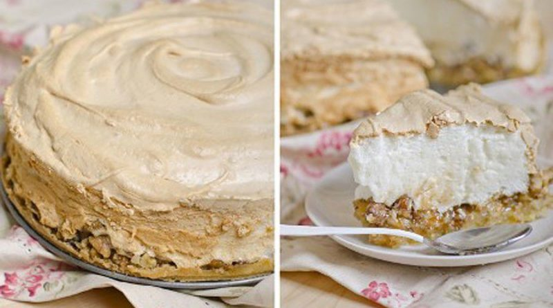 Торт ореховый (с меренгой)