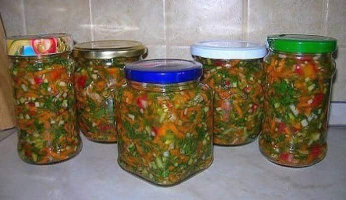 Витамины в банке: овощи на зиму для первых блюд!