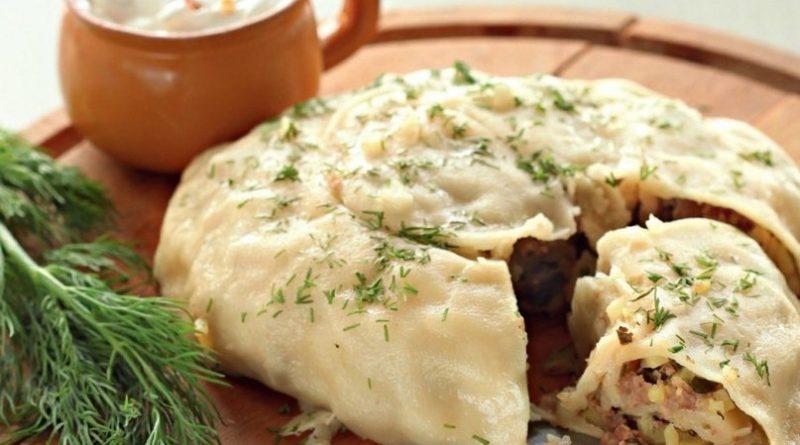 """""""Катлама"""" (с мясом и картофелем)"""