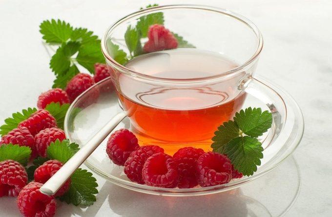 Как правильно заготовить листья малины для чая