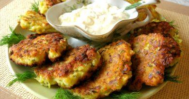 Соленые сырники с кабачком и укропом – Вкусный летний завтрак!