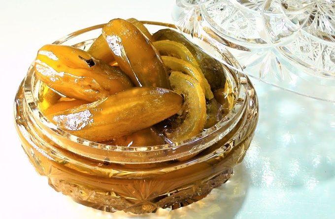 Это что-то невероятное! Армянское варенье из баклажанов с орешками