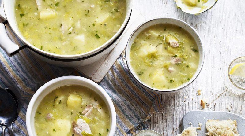 Картофельный суп (с курицей)