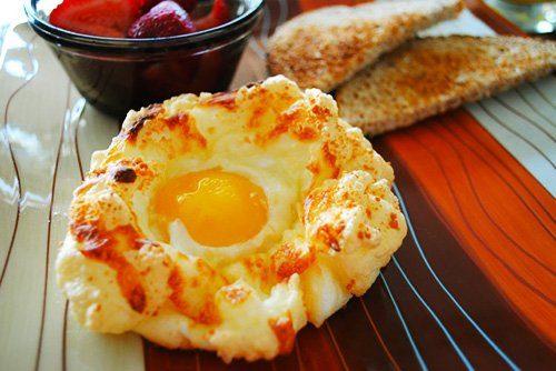 """""""Гнёздышки"""" на завтрак"""
