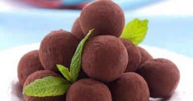 Шоколадные трюфели (по-домашнему)