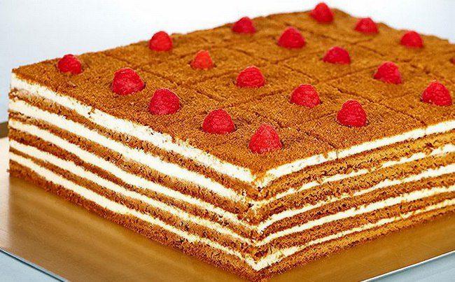 """Торт """"Рыжик"""""""