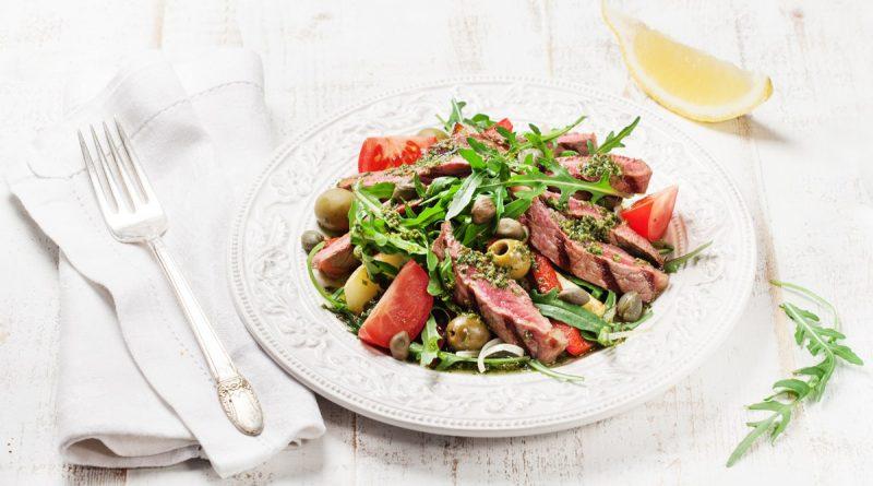 Итальянский салат (с говядиной)