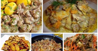 Готовим вкусные куриные желудочки: ТОП — 6 рецептов