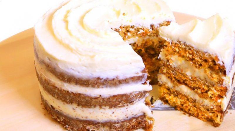 """Морковный торт """"Сладкая радость"""""""