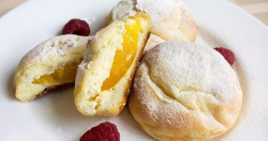 Сырники (с абрикосами) в духовке на завтрак