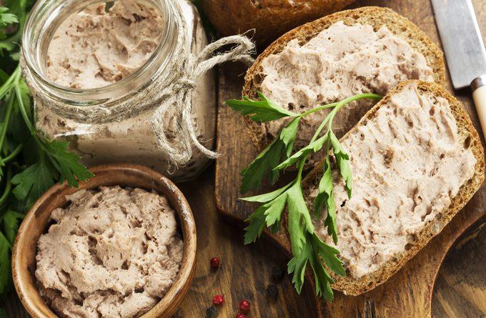 Домашние деликатесы: паштет из печени кролика