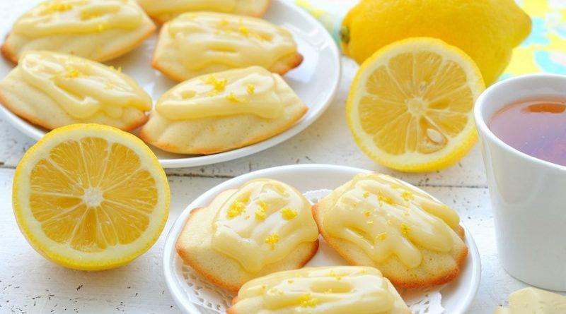 """Очень лимонное печенье """"Мадлен"""""""