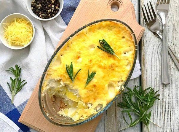 Классический картофельный гратен